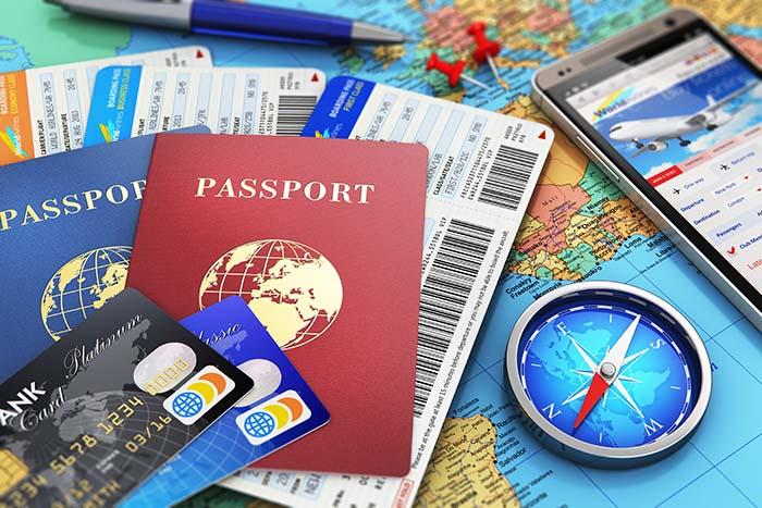 luottokortit passi matkailuun